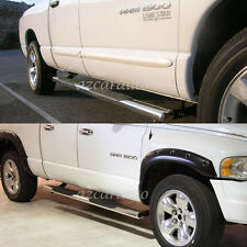 "4"" Oval T304 S/S Side Step Nerf Bar Running Board Fit:02-08/09 Ram Quad/Crew Cab"