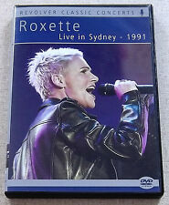 ROXETTE Live in Sydney 1991 SOUTH AFRICA 2011 DVD release Catalogue# REVDVD446