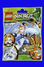 LEGO NINJAGO ZANE ZX BOOSTER PACK SET 9554 - BRAND NEW