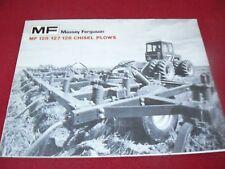 Massey Ferguson 128 127 126 Chisel Plow Dealer's Brochure 727AG/476-10-1