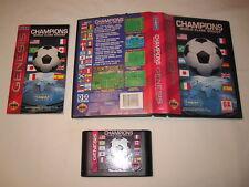 Champions World Class Soccer (Sega Genesis) CIB Complete in Box Excellent!