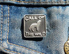 Call of the Wild Pewter Pin Badge