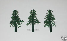 12 Evergreen Xmas Trees Cup Cake Picks Topper Kid Winter Party Bakery Supply