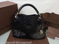 9000€ NEU LOUIS VUITTON Artsy MM LV Monogram LTD Python Ledertasche limited