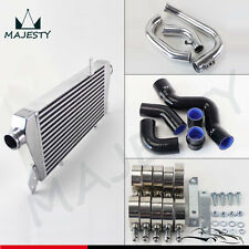 Upgrade Front Mount Intercooler Kit for Audi A4 1.8T Turbo B6 Quattro 02-06 BK
