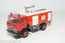 LION CAR SIKU BASED DAF 1900 TRUCK FIRE ENGINE EXCELLENT CONDITION CODE 3