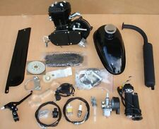 80cc Engine Motor Kit for Motorized Bicycle Bike With All Parts  Black Fast Ship