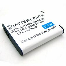 Battery for D-Li92 Pentax Optio I-10 RZ10 RZ18 WG-1 WG-2 WG-10 WG-3 GPS X70