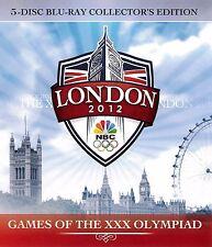 2012 Olympics: 5-Disc Collector's Set, Gymnastics BLURAY -Douglas/Mustafina