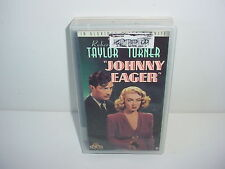 Johnny Eager VHS Video Tape Movie Clear Case Robert Taylor Lana Turner