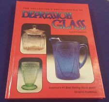 1994 Collectors Encylcopedia of DEPRESSION GLASS Hardcover Book by FLORENCE 11th
