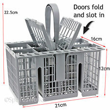 Cutlery Basket for HOTPOINT FDF780K FDL570A.R FDF780PR Dishwasher Grey