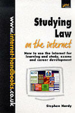 Hardy, Stephen Studying Law on the Internet: How to Use the Internet for Learnin
