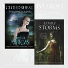Virginia Andrews Series(Cloudburst,Family Storms) Collection 2 Books Set