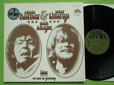 Alexis Korner & Peter Thorup With Snape - Live On Tour In Germany 2LP Brain 1973