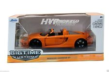 JADA 1:24 PORSCHE CARRERA GT DIE-CAST ORANGE 96955