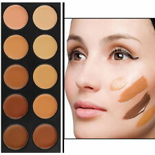 10 Color Eye Face Camouflage Concealer Palette Cosmetic Makeup Cream Corrector