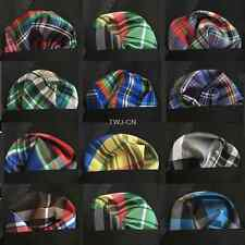 "LOT 5 pcs 10"" Stripe Floral Men Silk Wedding Party Handkerchief Pocket Square"