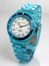 AVALANCHE Electric Blue Unisex Designer Watch AV-102P-FUBU-40 Free UK Delivery