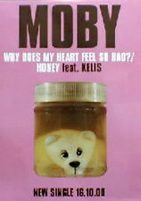 Poster: MOBY - Why Does My Heart - Promo  NEU!  (13342)