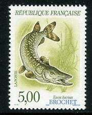 STAMP / TIMBRE FRANCE NEUF N° 2666 ** FAUNE / POISSON / BROCHET