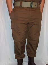 South African SADF Nutria Brown Combat Trousers- Size US 40 Waist