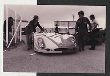LE MANS 1970 #27 MARTINI FLUNDER PORSCHE 908 RUDI LINS LATER PRINT PHOTOGRAPH
