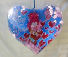 Heart Shaped Inflate Blowup With Stuffed Bear Inside - Valentine Gift