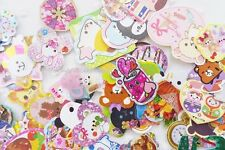 Kawaii Sticker/Seal Flakes Grab Bag Mix, 25 pieces
