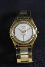 alte Kienzle Herren Armband Uhr Fixo Flex Band golden Herrenarmbanduhr Metall