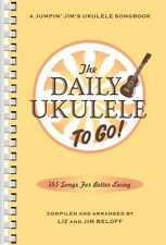 The Daily Ukulele To Go  Sheet Music Portable Edition Smaller Book New 000119270