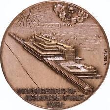 M899 Médaille Inauguration Aérogare d'Orly 1961 Dropsy Aéroport Paris - F offre