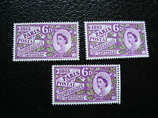 ROYAUME-UNI - timbre yvert et tellier n° 372 x3 n** (A27) stamp united kingdom