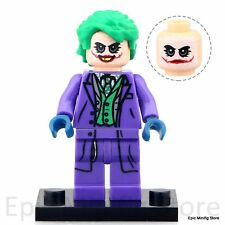 Custom Joker Heath Ledger DC Comics Minifig fits with Lego pg077 UK Seller