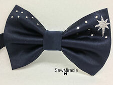 Christmas Bow tie*Men's bow tie*Star of Bethlehem*Navy Bow tie* Handmade