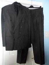 "men`s smart signori dei signori grey 2-piece suit chest size 46"" waist 34"""