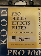 Kood Pro100 Cokin Z Fit Soft Grey Grad ND8 Filter Equivalent To Z121S 100 x125mm