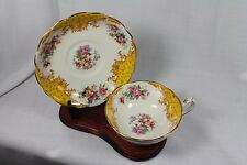 Vintage Rare Royal Paragon Fine Bone China Tea Cup & Saucer, 1930-1933