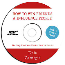 NEW 2015-How to Win Friends & Influence People- Dale Carnegie-Audio Book MP3 CD