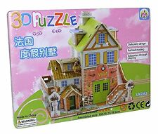 City Villa House Playhouse House 3D Toy Puzzle Puzzle game NEW LX-353