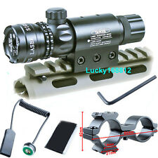 532NM Green Laser Sights Sites Outside Adjust For Rifle Scope Gun Hunting