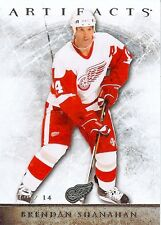 12-13 UD Artifacts Brendan Shanahan #7-Detroit Red Wings