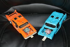 Vintage 1970 Kenner SSP Smash Up Derby Cars