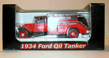 NIB Crown Premiums Snap On Tools Promo 1/43 Die Cast Red 1934 Ford Oil Tanker