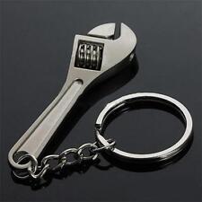 Metall Einstellbare Werkzeug Wrench Spanner Schlüsselanhänger Keyring Geschenk