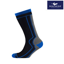 Sealskinz Thick Mid Length Waterproof Socks SALE