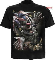 SPIRAL DIRECT JACK IN THE BOX  T-Shirt,/Tee/Top/ Biker/Skull/Goth/Horror/clown