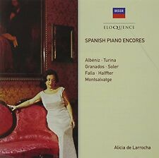 Alicia de Larrocha - Spanish Piano Encores [New CD] Australia - Import