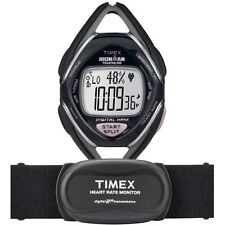 Timex Womens Ironman Triathlon Race Trainer Heart Rate Monitor Purple Watch NEW