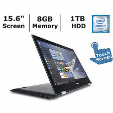 "Lenovo Edge 2 15.6"" Full HD IPS 2in1 Touch Laptop Core i7 8GB RAM 1TB 80QF0006US"